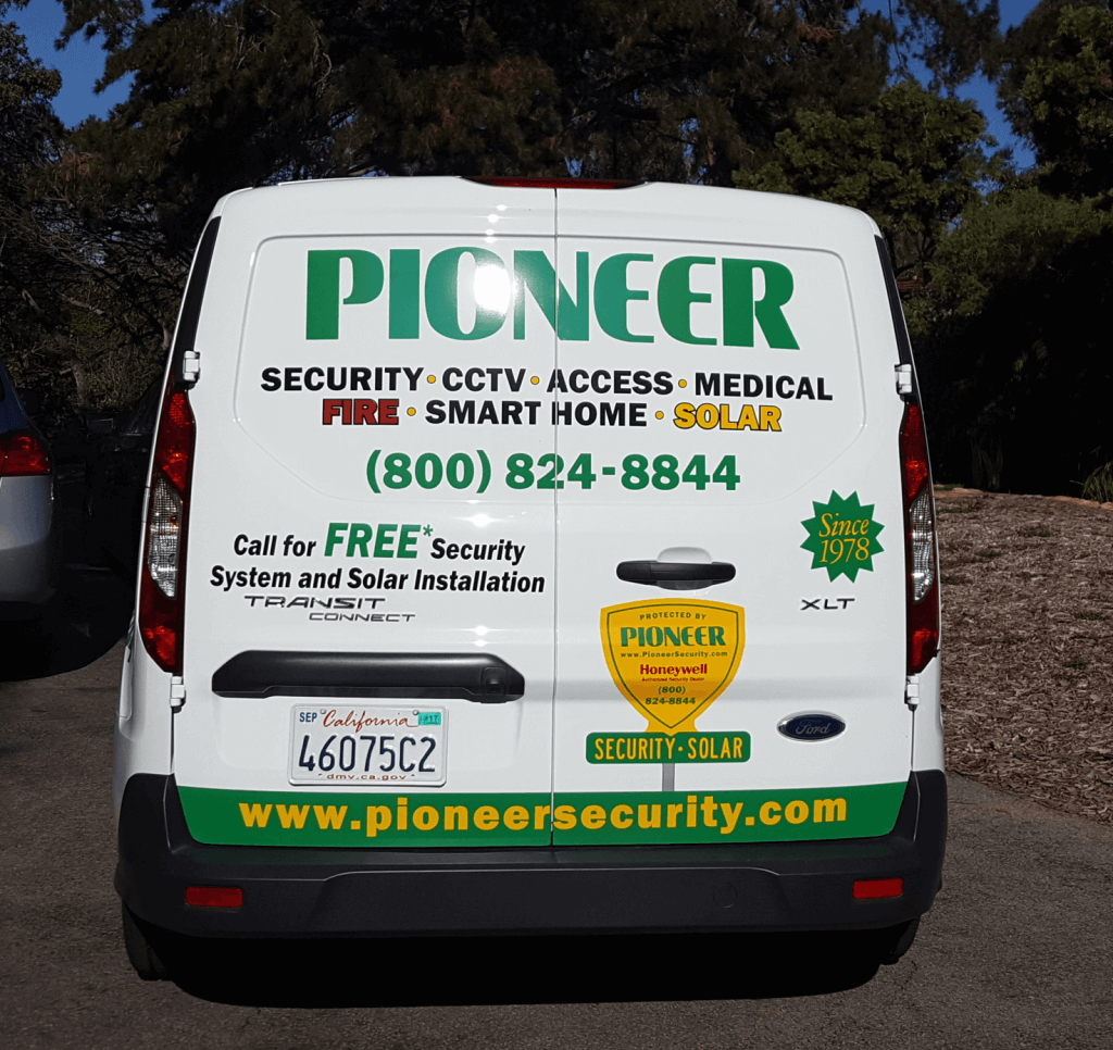 Home Security Systems serviced in San Diego